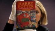 Eerste uitgave Harry Potter geveild voor 31.000 euro