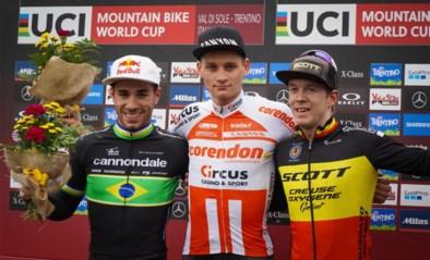 Weer prijs voor Van der Poel op de mountainbike, eerste podium voor Schuermans