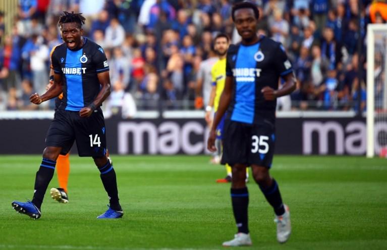 Sprankelend Club Brugge dendert over onmachtig STVV
