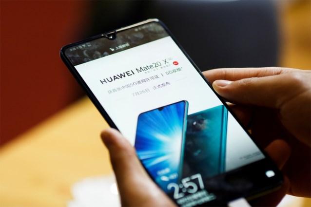 Huawei krijgt tik in België door Amerikaanse ban