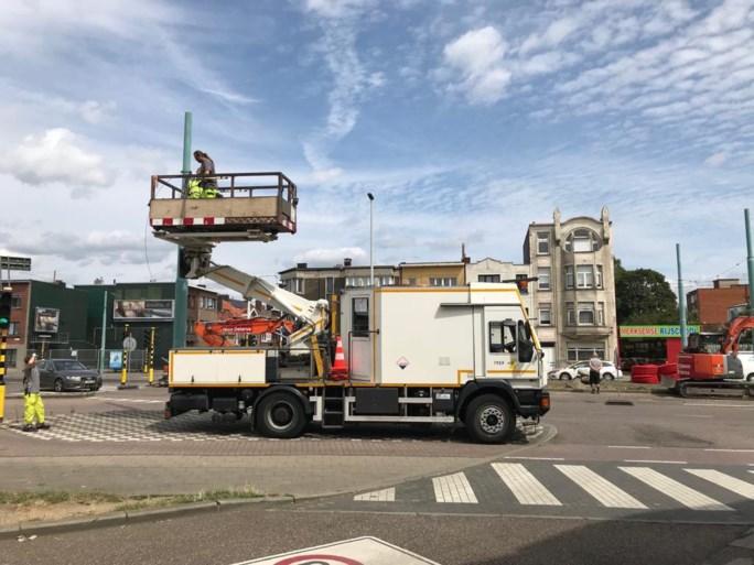 Tramverkeer in Antwerpen tijdlang verstoord door kapotte bovenleiding
