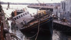 Bekend Greenpeace-schip 'Rainbow Warrior' komt naar België