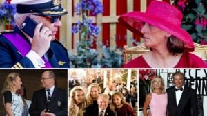 Prins Laurent en prinses Claire zijn op vakantie met de meest mediageile royals van Europa