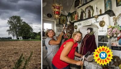 Waarom er rond deze kapel slipjes, beha's en stomazakjes in de bomen hangen