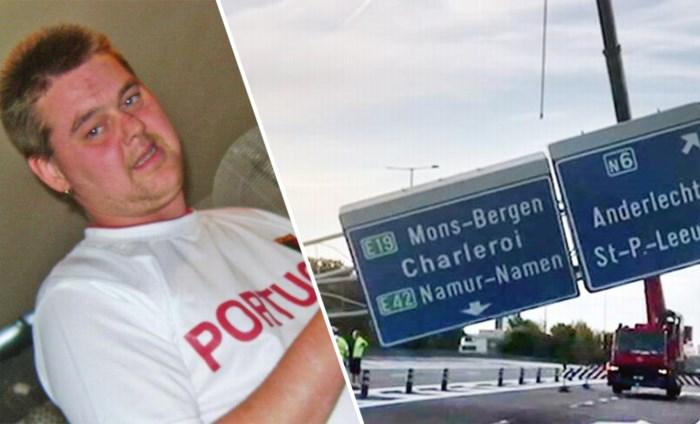 Dakloze vader van vier keerde dronken terug naar zijn tent toen hij werd doodgereden op Brusselse Ring