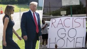 Protest tegen president Trump bij bezoek aan El Paso en Dayton na dodelijke schietpartijen