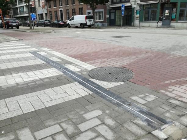 Primeur in België: LED-systeem waarschuwt chauffeurs voor fietsers in Hasselt