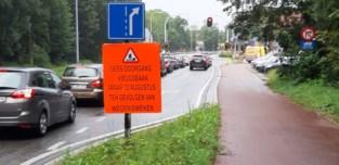 Herinrichting Krijgsbaan gaat maandag van start: negen maanden pure verkeersellende