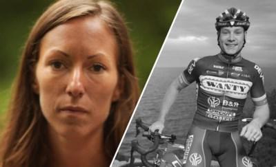 """De weduwe van renner Antoine Demoitié (25) getuigt: """"De tranen komen jaren later nog.  Maar de boosheid ebt weg"""""""