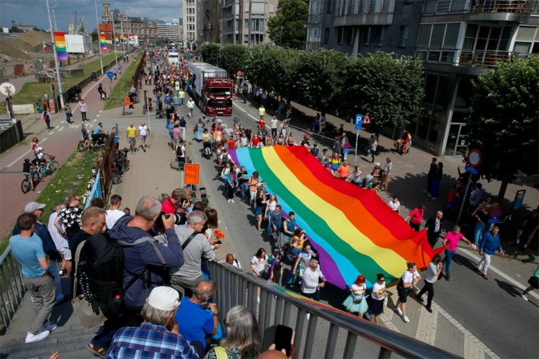 90.000 mensen wonen Antwerp Pride Parade bij