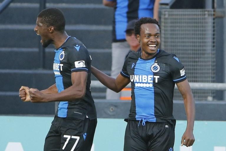 Invallers Tau en Okereke bezorgen Club Brugge het maximum van de punten op het veld van Oostende