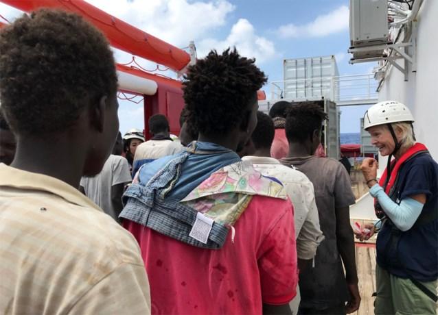 Nieuw ngo-schip 'Ocean Viking' heeft al 251 migranten aan boord