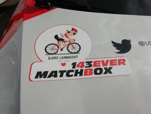 Bjorg Lambrecht rijdt voortaan altijd mee met volgwagens van Lotto-Soudal
