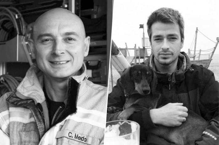 """""""Hulpverlening is nu eenmaal mijn roeping"""": omgekomen brandweervrijwilligers Chris en Benni laten echtgenotes en zes kinderen na"""