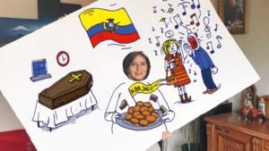"""Maria uit Ecuador over vreemde gewoontes in ons land: """"Ik was echt geschokt toen ik voor het eerst toekwam op een feestje hier"""""""