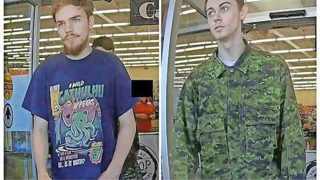 Canadese tieners die verdacht worden van moordende raid pleegden allicht zelfmoord
