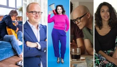 Philippe Geubels, Danira Boukhriss en Sven De Leijer: naar deze 5 nieuwe programma's op Eén kijken we het meest uit