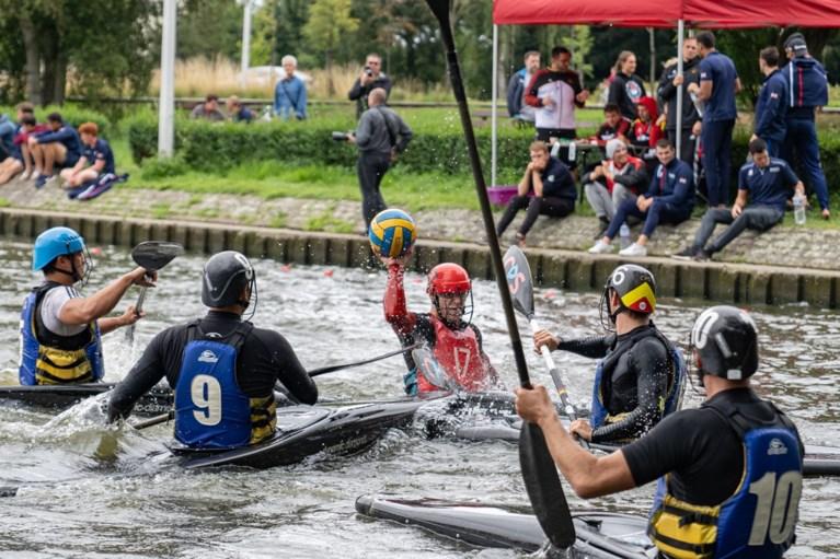Internationale top kajakpolo levert strijd in Watersportbaan