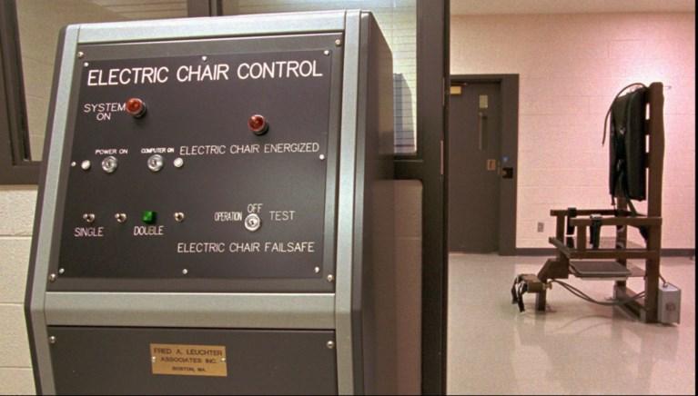 Toen hij snikkend in de elektrische stoel zat, had deze tweevoudige moordenaar nog een laatste boodschap