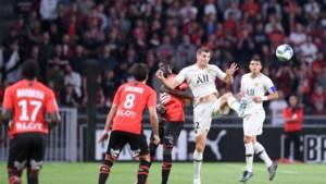 Thomas Meunier lijdt met PSG verrassende nederlaag bij Rennes