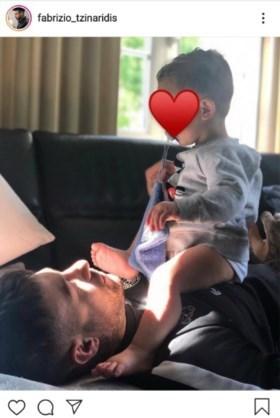 """Fabrizio post eerste foto van zoon: """"Ik ben een trotse papa en verstop dat niet meer"""""""