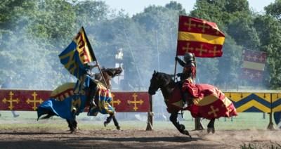 Middeleeuwse ridders moeten in laatste instantie aftocht blazen