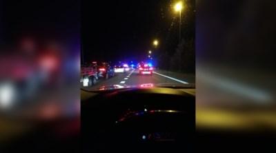 """Spectaculaire achtervolging eindigt met crash: """"Ik zat precies in een Amerikaanse politiefilm"""""""