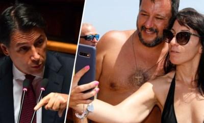 Italiaanse regering valt, maar of minister 'Selfini' nu zijn grote slag zal kunnen slaan?