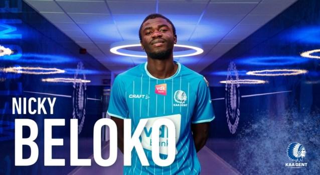 AA Gent strikt 19-jarige Zwitserse middenvelder Nicky Beloko