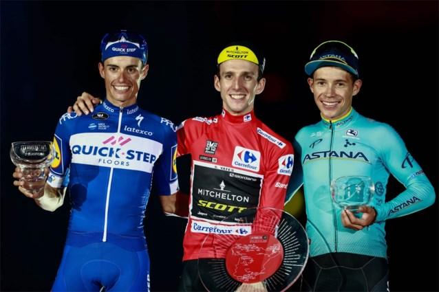 Definitieve deelnemerslijst Vuelta