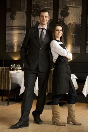 Lucie en Jimmy van 'Mijn restaurant'  uit elkaar