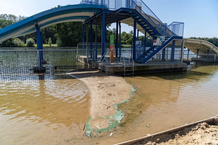 Net nu het opnieuw warm wordt: twee weken zwemverbod in Blaarmeersen