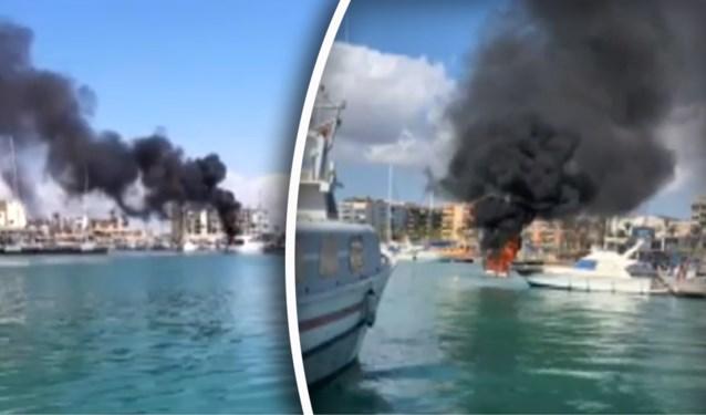 Belgische toeristen zwaar verbrand nadat pas gekochte boot ontploft