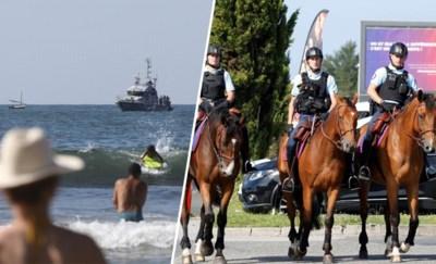 Biarritz, waar de toeristen dit weekend plaats moeten maken voor een klein leger en de wereldleiders van de G7