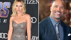 Scarlett Johansson en Dwayne Johnson zijn best verdienende acteurs