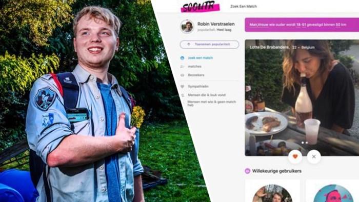 """Scouts hebben nu een eigen Tinder: """"In één dag meer dan duizend daters tussen 16 en 30 jaar"""""""