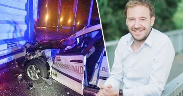 "Steven 'Spillie' Spillebeen (44) crasht onder invloed tegen vrachtwagen: ""Ik kon hem nog even spreken"""