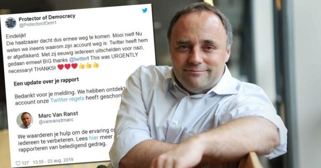 """Twitter-account van viroloog Marc Van Ranst verdwenen: """"Een gecoördineerde actie"""""""