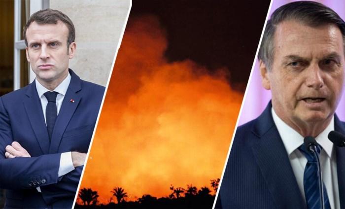 Alleen handelsakkoord als Brazilië het Amazonewoud blust: wereldleiders zetten president Bolsonaro onder druk