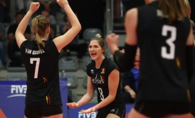Tweede winst op rij zet Yellow Tigers met anderhalve voet in tweede ronde EK volleybal