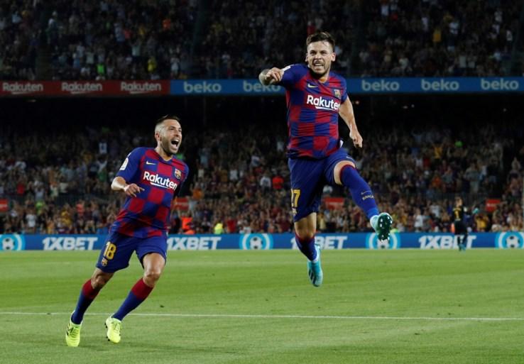 Barcelona rolt Betis Sevilla op in tweede helft, maar krijgt wel wereldgoal tegen