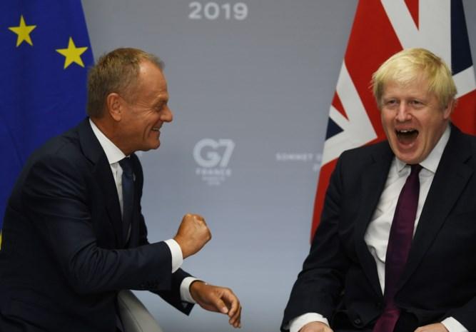 """Boris Johnson probeert Brexit te regelen op G7-bijeenkomst: """"De EU begrijpt ons al veel beter"""""""