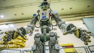 Russische robot geraakt niet binnen in ISS