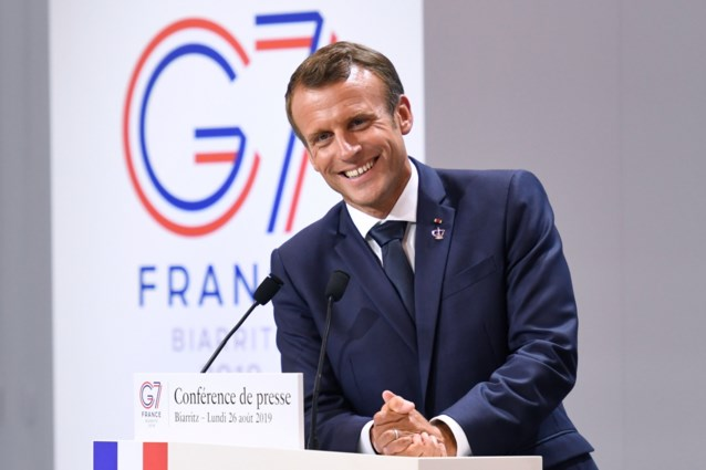 Macron kondigt top over Oekraïne aan in september