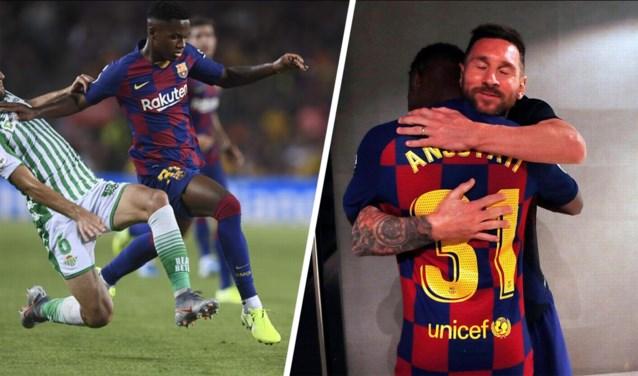 Het (nog) onbekende toptalent: de 16-jarige diamant uit de Barcelona-opleiding die in de armen van Messi belandde