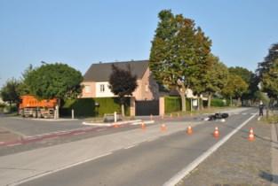 Steenweg afgesloten na zwaar ongeval