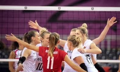 Yellow Tigers naar derde winst op EK volleybal, maar het was pompen of verzuipen tegen Portugal