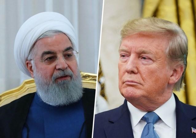 """Iraanse president Rohani past voor """"fotoshoot"""" met Trump: """"Geen ontmoeting zonder opheffing van sancties"""""""