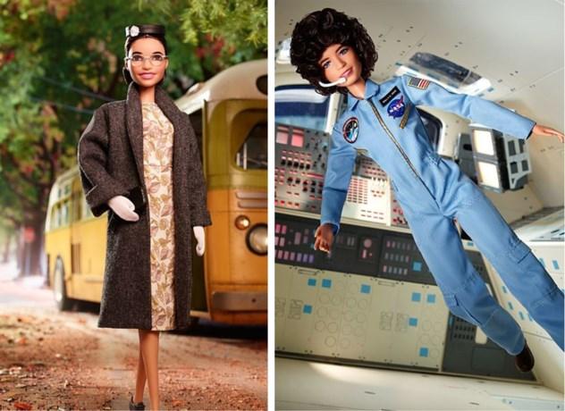 Rosa Parks en Sally Ride krijgen eigen Barbie-versie