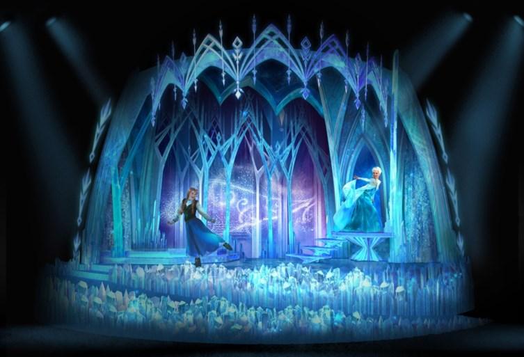 Disneyland Parijs onthult eerste beelden van 'Frozen'-attractie die op 17 november deuren opent